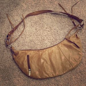 Hobo crossbody leather purse never carried.